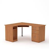 Стол компьютерный СУ-9 ольха Компанит (150х125х74 см), фото 1