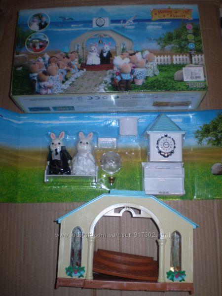 Свадебная церемония Happy family (аналог Sylvanian Families)