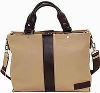 Мужская кожаная сумка VATTO Mk-34.1FL5Kаz400 бежевая