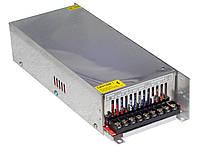 Блок питания компактный 12В 500Вт 40А DC в перфорированном корпусе