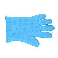 Силиконовая перчатка - прихватка 28*16*2 см, пара -2шт