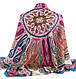 Стильный женский платок, 30% хлопок, 40% шерсть 30% полиэстер, 130х130 см, Trаum 2496-28, разноцветный., фото 2