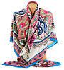 Стильный женский платок, 30% хлопок, 40% шерсть 30% полиэстер, 130х130 см, Trаum 2496-28, разноцветный.