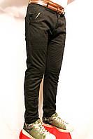 Шкільні чорні брюки на флісі для підлітків від 8 до 16 років. Виробник Польша - Smile