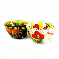 Чашки керамические ручной работы ручная роспись 2шт*500мл 9472