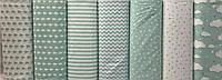 Турецкая ткань для постельного белья № WH-001