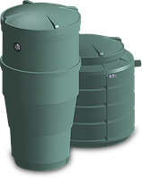 Энергонезависимая система автономной канализации ZS - 5 для дачи или небольшого дома