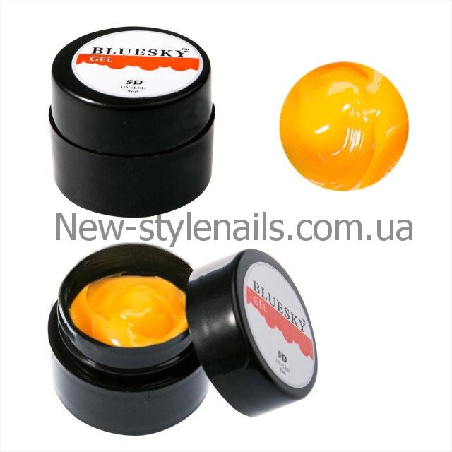 BLUESKY, Гель-паста 5D 8ML  цвет оранжевый, №10