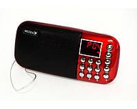 Радиоприемник колонка Neeka NK-911, FM радио, карта памяти, USB разъем, портативные колонки, радиоколонки