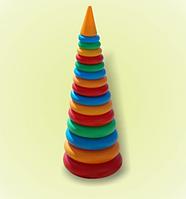 Детская пирамидка 61 см.Детская игрушка.Игрушка для малышей.