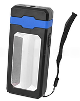 Фонарь кемпинг 8051-LM+COB с рассеивателем, power bank, солнечная батарея, ЗУ micro usb, магнит LO