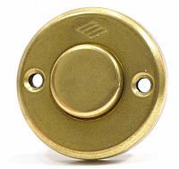 Кнопка для эл.механического замка Cisa 12011 золото ( Италия)