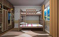 Кровать детская Комби 2 80х120х200 см. Тис
