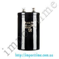 Конденсатор электролитический 4700мкФx 250В, 105°C, 65x105