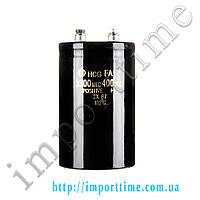 Конденсатор электролитический 3300мкФx 400В, 105°C, 65x105