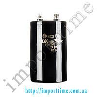 Конденсатор электролитический 3300мкФx 250В, 105°C, 65x105
