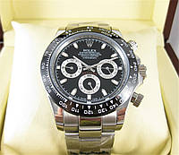 Часы Rolex Daytona Ceramic 40mm black/silver. Класс: ELITE.