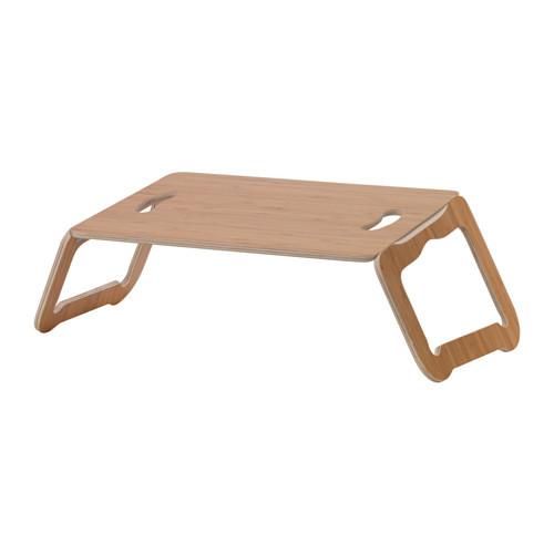 ИКЕА БРЭДА Подставка для ноутбука, бамбуковый шпон, 42x30 см