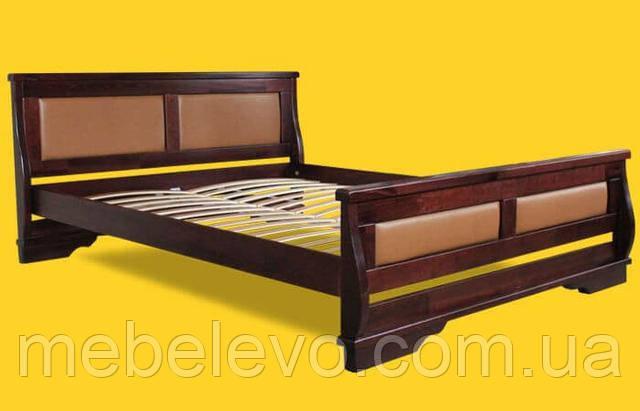 полуторная кровать деревянная