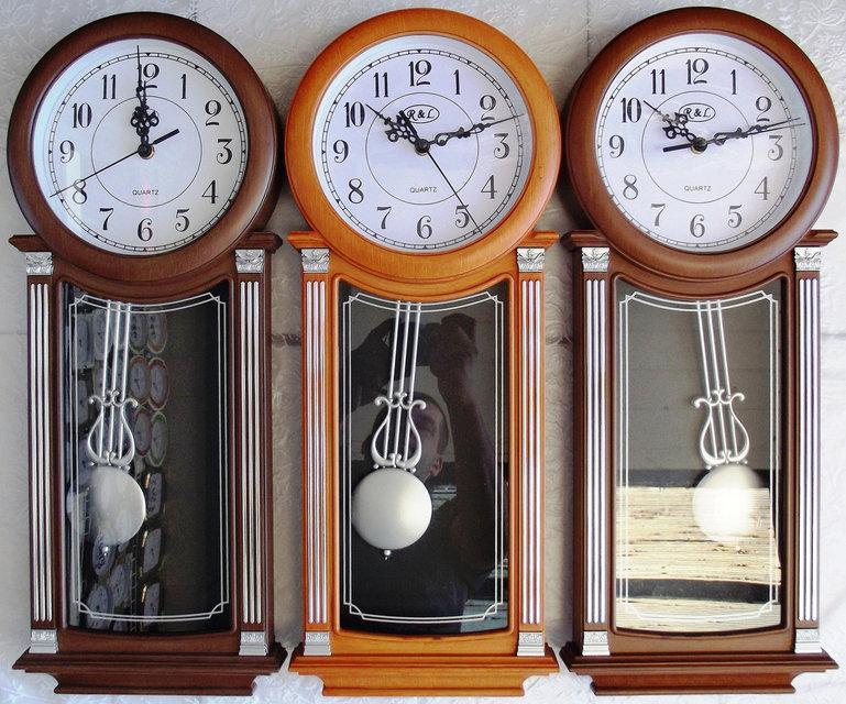 Часы настенные R*L  для дома и офиса RL-M818 sound