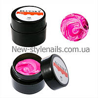 BLUESKY, Гель-паста 5D 8ML  цвет розовый, №02