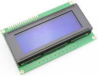 Четырехстрочный символьный индикатор LCD2004A 5V с подсветкой (синий)