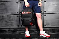 Рюкзак Reebok, черный с красным