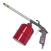 Пистолет пневмат.промывочный з бачком Vorel