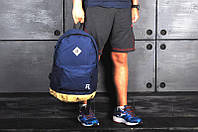 Рюкзак Reebok, синий с желтым