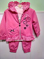 Спортивный костюмчик для девочки