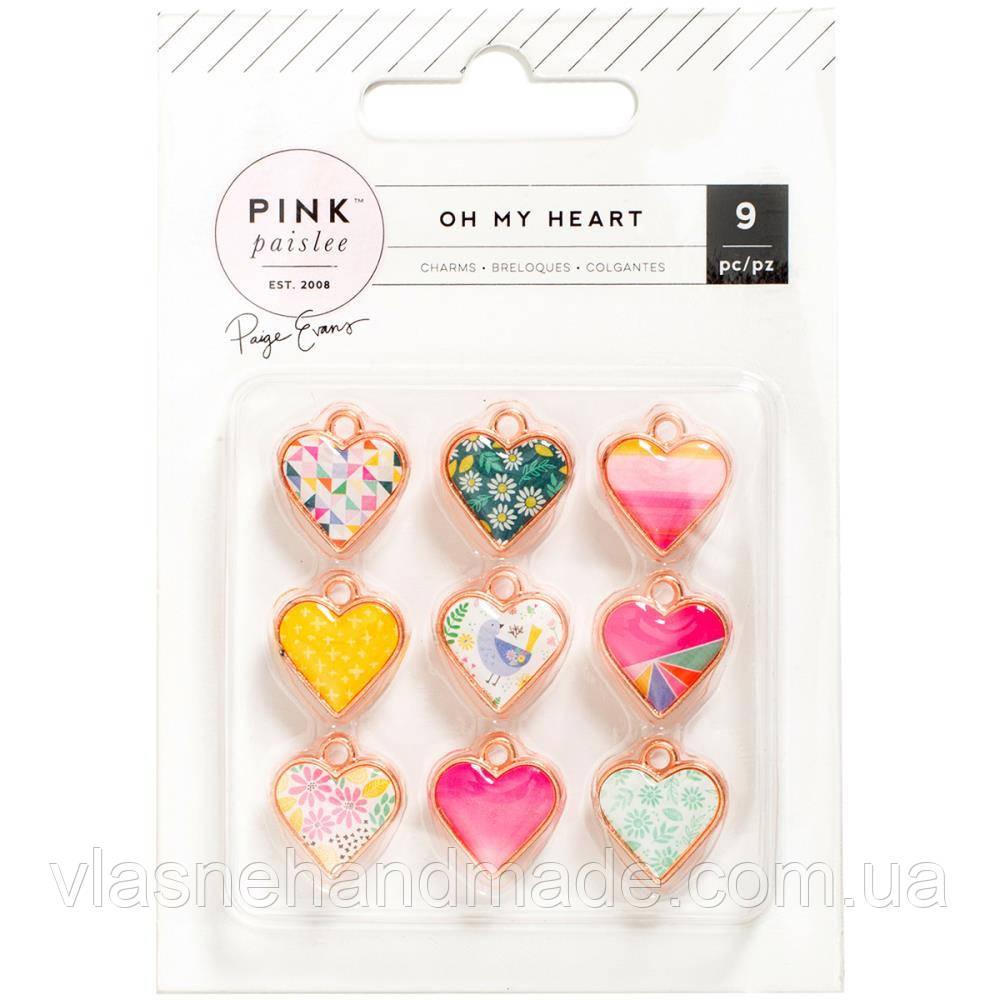 Підвіски - Paige Evans - Oh My Heart - 9Pkg