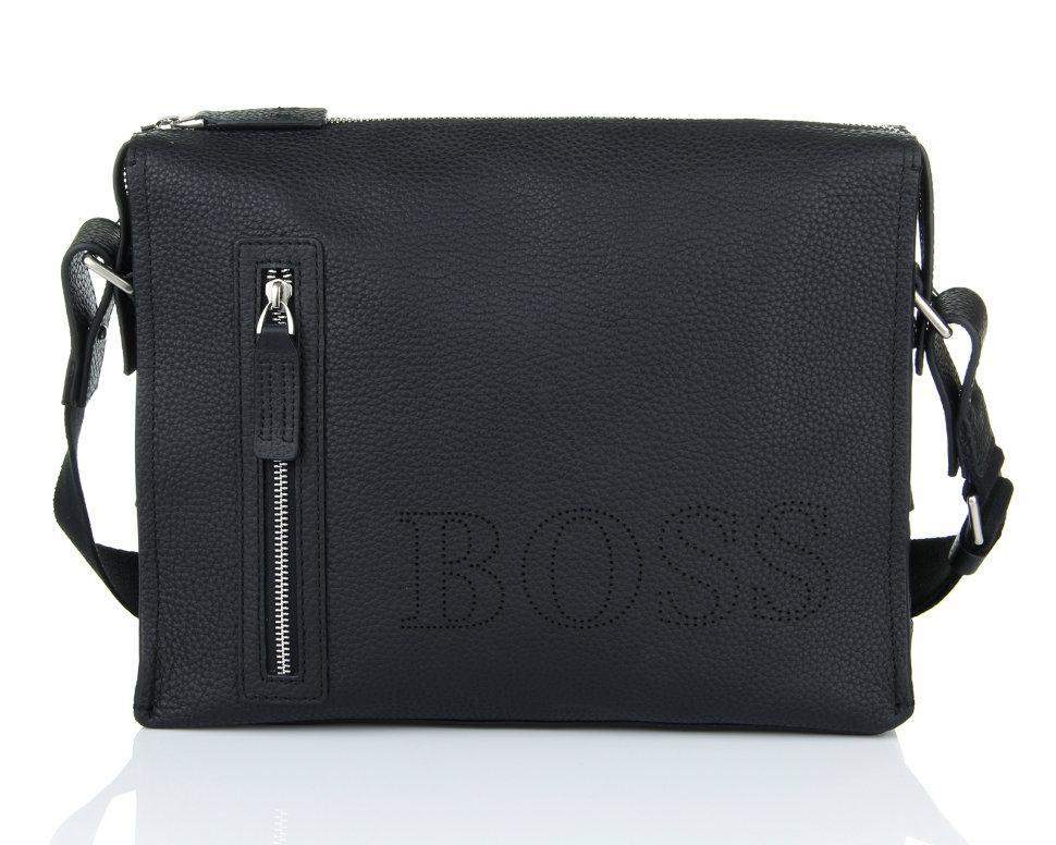 Горизонтальная сумка Hugo Boss 2184-4 Black