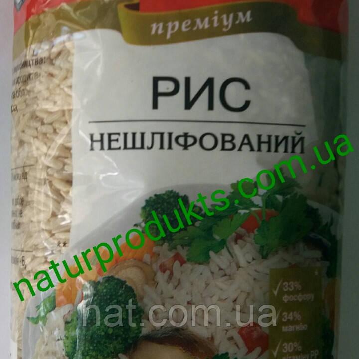 """Рис нешлифованный ТМ """"Жменька"""", 1 кг"""
