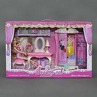 Игровой набор кукольной мебели 589-1 (16) в коробке