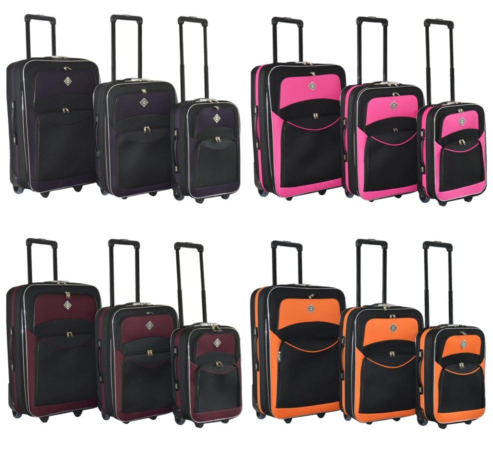 b8b61ab722dd Дорожный чемодан Bonro Best на колесах набор 3 штуки: продажа, цена ...