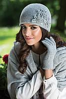 Nora зимняя женская шапка Kamea, шерстяная, горчичный цвет