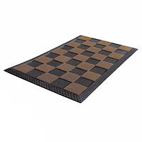 Шахматный коврик для прихожей МАКСИ QUADRO 40X70 см YORK HIM-Y-098080