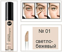 Корректор гипоаллергенный светоотражающий HypoAllergenic Liquid Eye Concealer Bell № 01