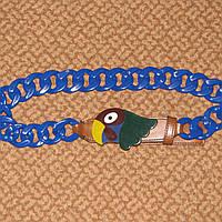 Ремень с попугаем Prada