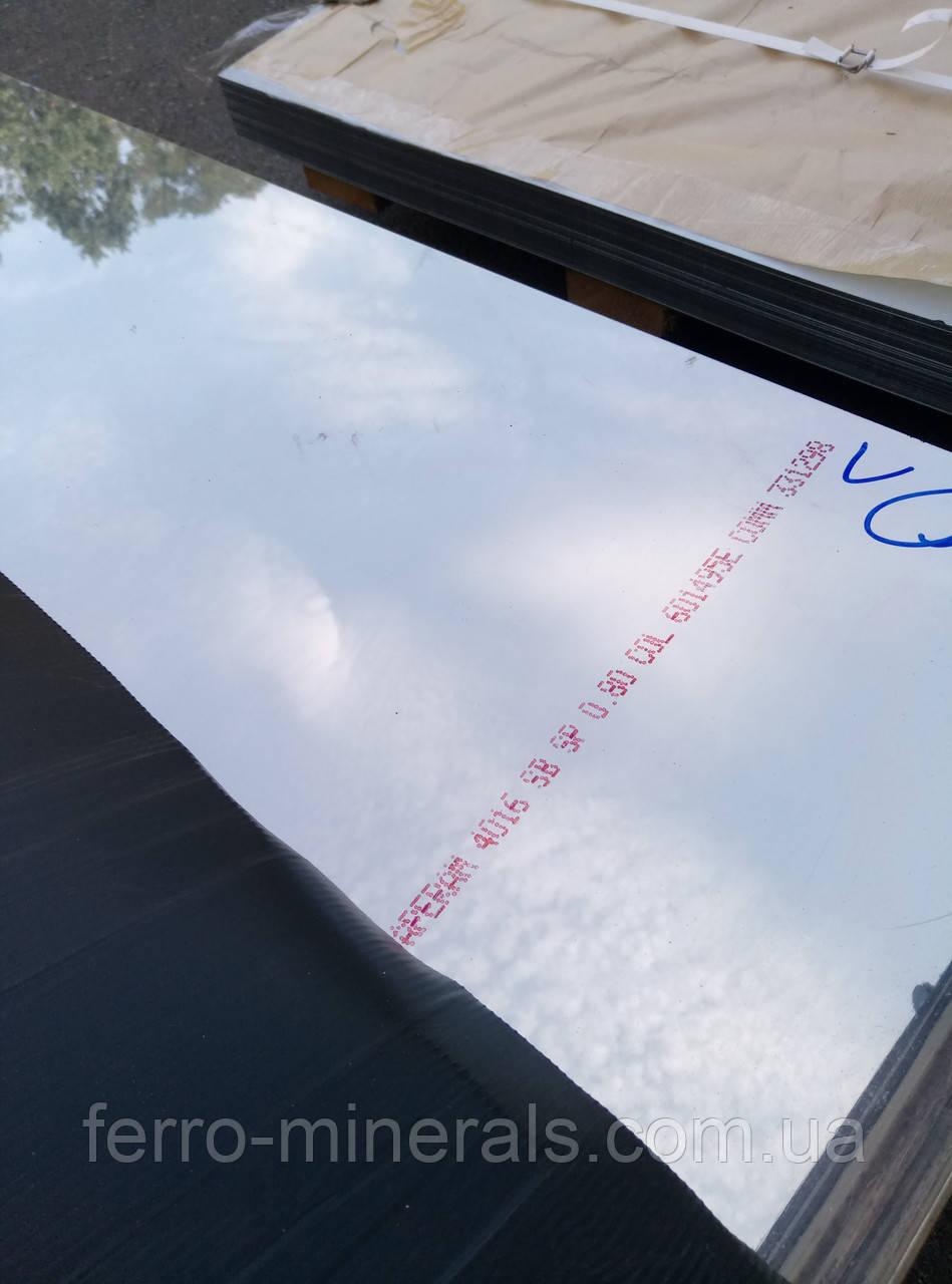 Лист Нержавеющий 1,0Х1250х2500мм AISI 430 зеркало