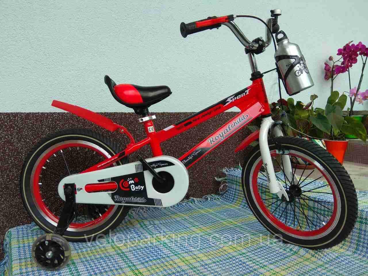 Детский двухколесный велосипед Royal Child 16 new (2018)