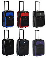 Дорожный чемодан Bonro Best на колесах (Большой) тканевый с кодовым замком