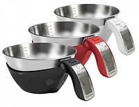 Кухонные электронные весы со съемной нержавеющей чашей CONSTANT