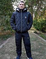 Спортивный мужской костюм стеганый в расцветках 22086