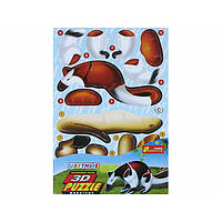 Пазлы 3D 3119-03 Ящерица (4в1)