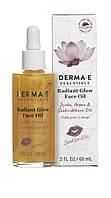 Средство для сияния кожи лица с маслами шиповника и клюквы Derma E (США)