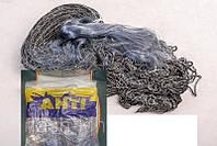 Сеть рыболовная финка, ячейка 40-45, 30 метров, вшитый груз, для промышленного лова