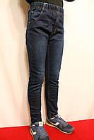 Зимові джинси на флісі на резинці для хлопчиків від 4 до 12 років (зростом від 98 до 146см). Виробник Польша.
