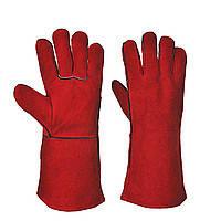 Перчатки термостойкие для свар. работ INDIA