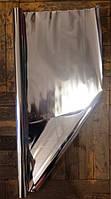 Пленка металлизированная (односторонняя)  в рулоне, серебро